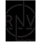 RNV Website | Φαρμακευτική Βιομηχανία – Res Non Verba Logo